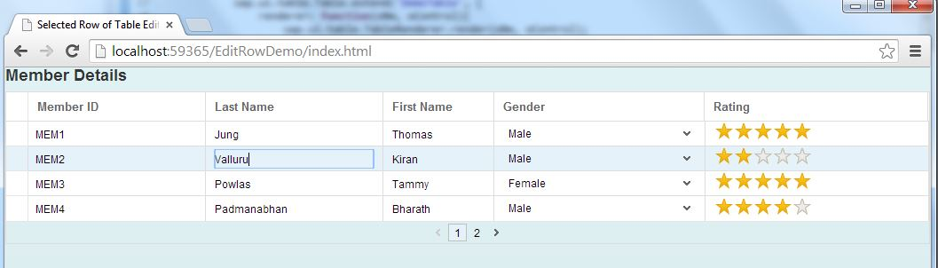 How to make selected row of table editable in SAP UI5 | SAP Blogs