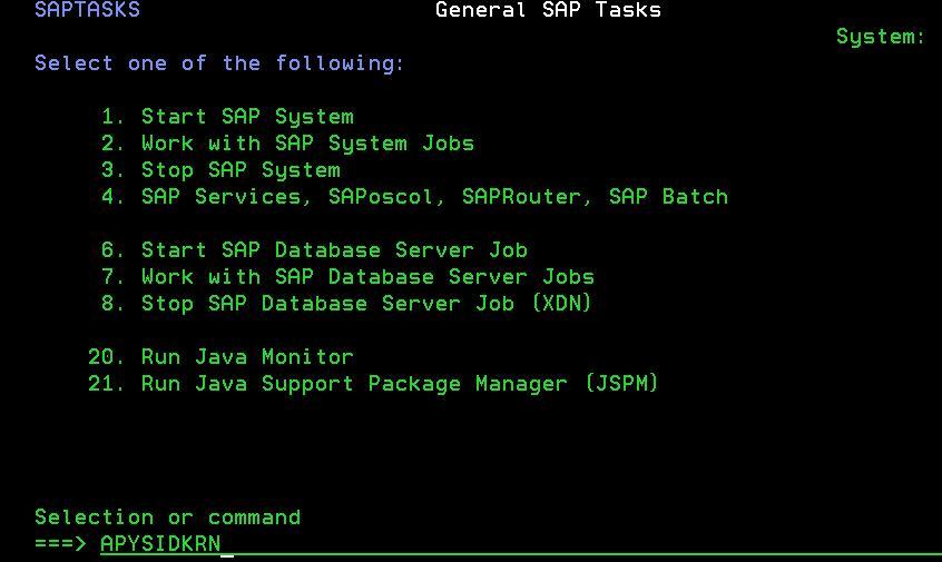Performing SAP Kernel Upgrade on IBM i using APYSIDKRN