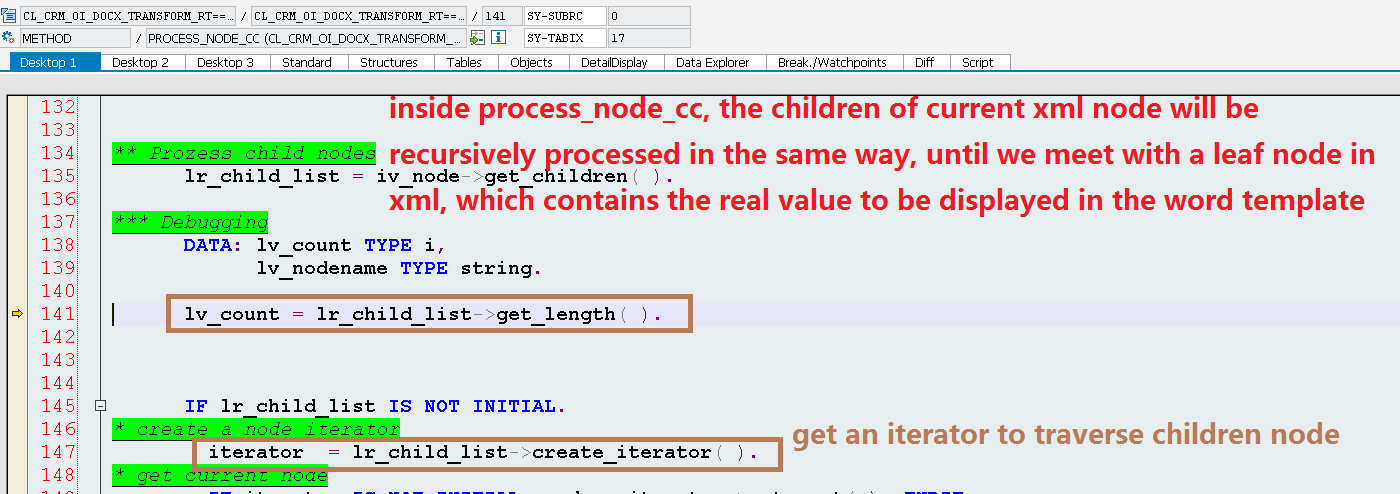 understand how the word template is merged with xml data stream