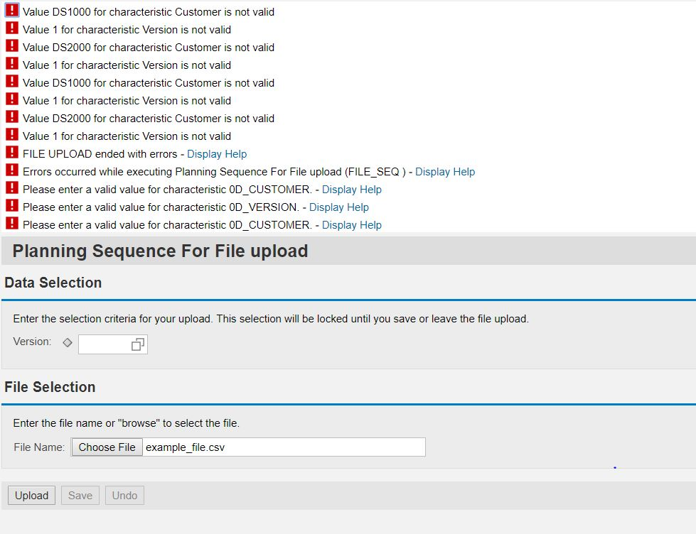 How-to Load a File into BW-Integrated Planning (Version 3