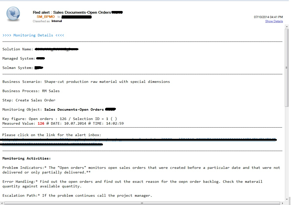 Customized Email Notification Using Badi Build Message For