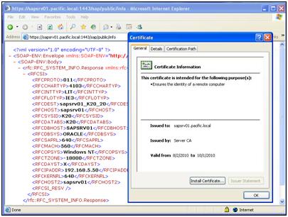 SAP AS ABAP – Authentication using X 509 Client Certificates