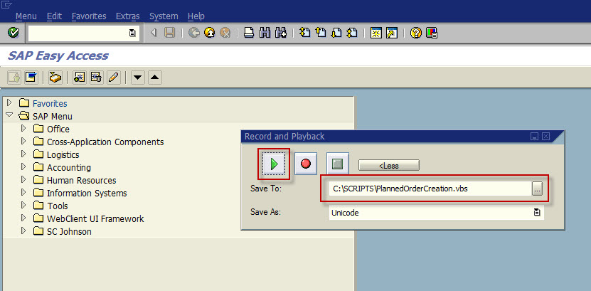 Sap Scripting Tool Excel