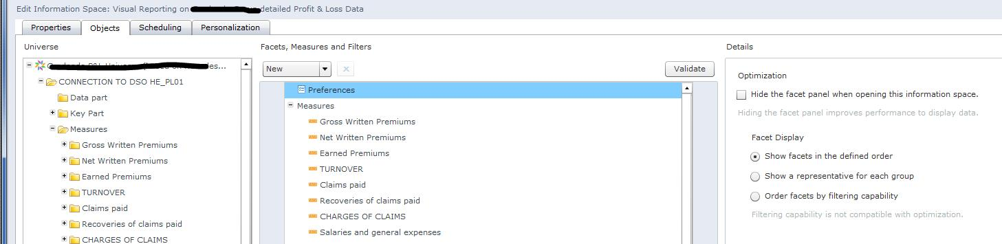 How to create a SAP BO Explorer Information space using a SAP BW ...