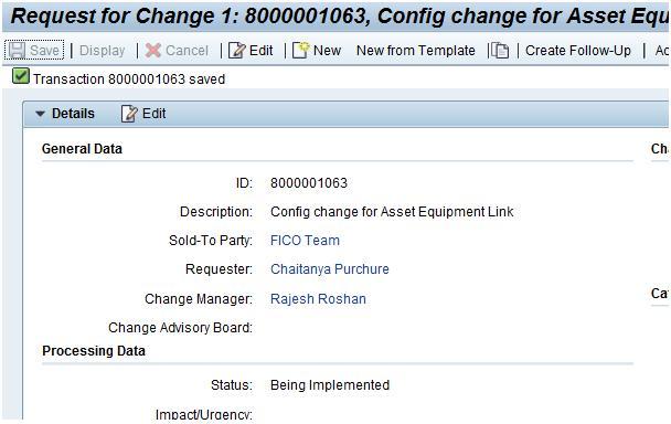 Basic Procedure for Change Management (ChaRM) | SAP Blogs