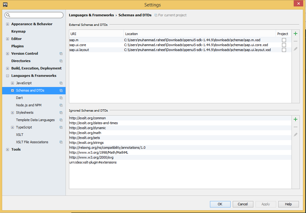 Configuring JetBrains WebStorm for UI5 development | SAP Blogs