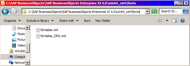 how to add fonts to bi 4x platform webi rich client sap blogs