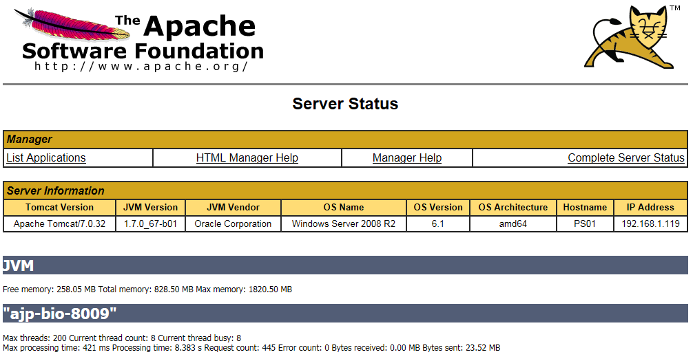 How to update JRE/JDK for Tomcat7 on BI 4 1 x Platform | SAP Blogs