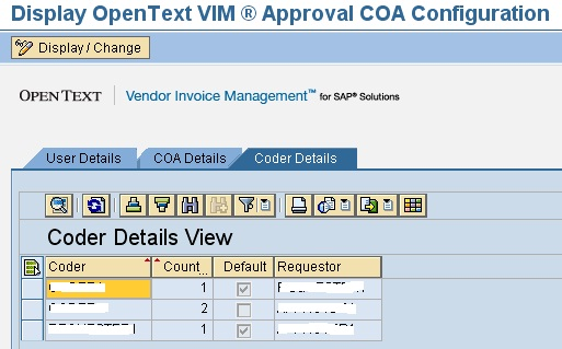 OpenText VIM Invoice Approval Process And Chart Of Authority SAP - Open text invoice management