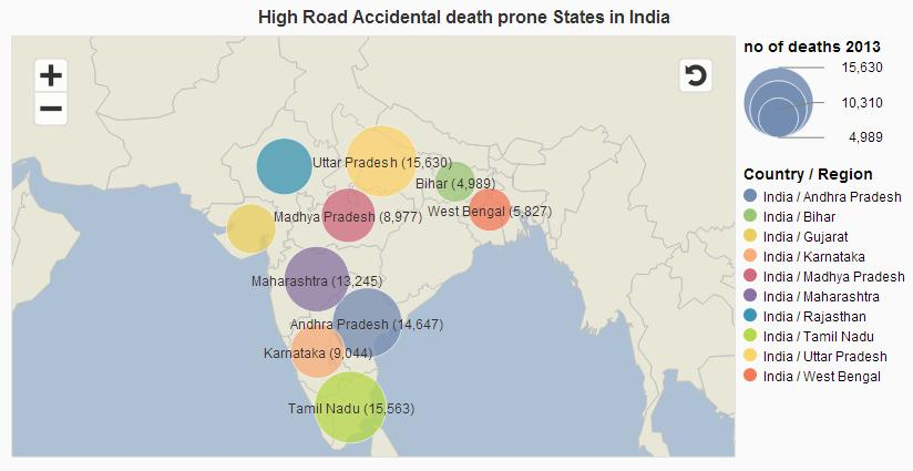 Data Geek III – Analysing Accidental Deaths in India – 2013