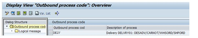 Inbound Delivery : Automatic Creation from Outbound Delivery for STO