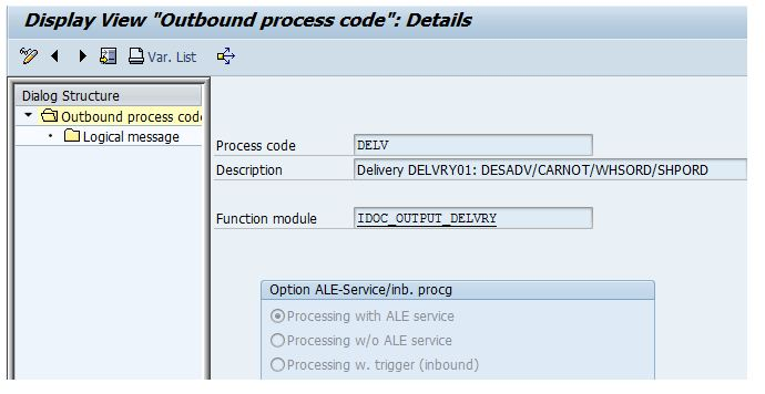 Inbound Delivery : Automatic Creation from Outbound Delivery | SAP Blogs