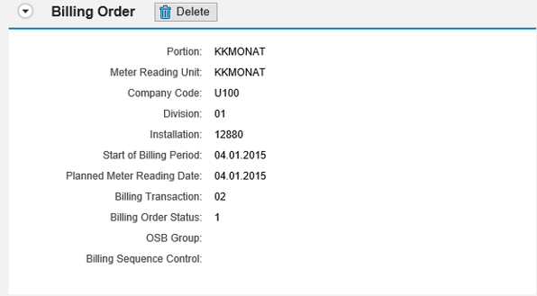 Bill Correction in CRM for Utilities | SAP Blogs