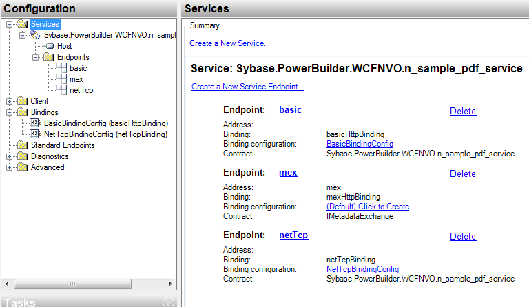 Using NetTcp instead of Http accessing your WCF Service | SAP Blogs