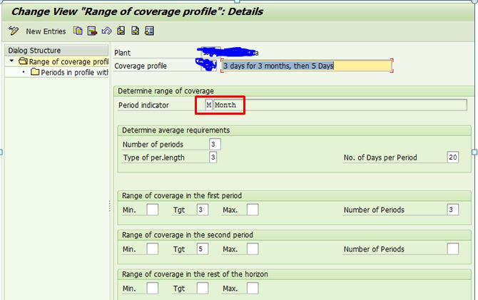 Dynamic Safety stock calculation with help of the Coverage profile ...