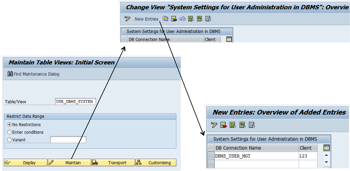 Dbms Users In Sap Netweaver As Abap 740 Blogs Database Security And Authorization Dbco2