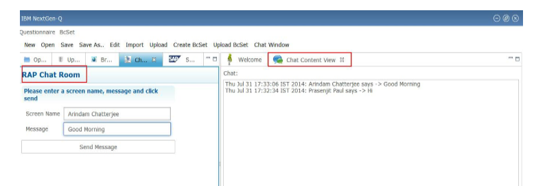 How To Create A Chat Room In Ibm