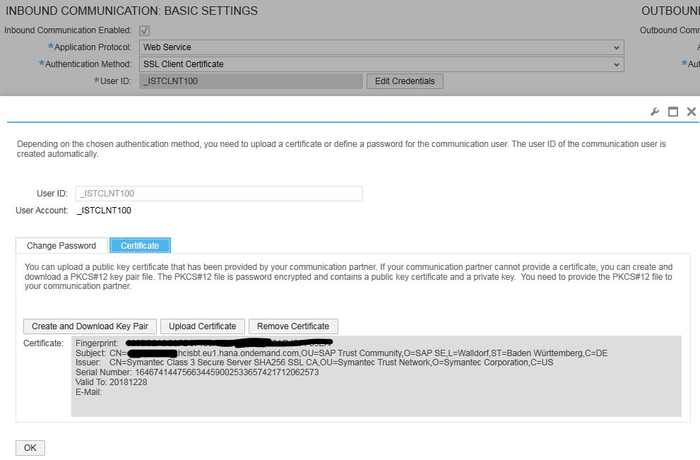 When and how to update your SAP Cloud for Customer SSL Client ...