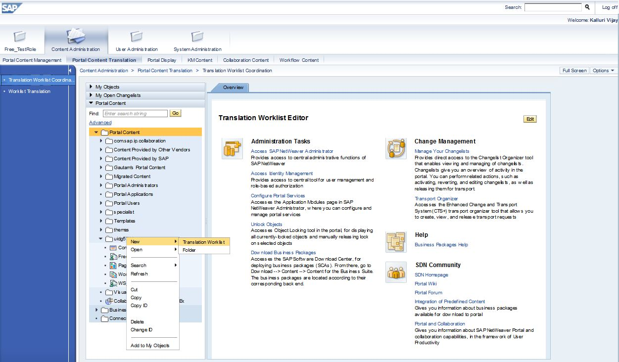 how to change sap language from german to english