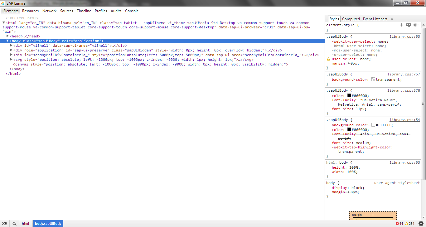 SAP Lumira – Geek Tweaks: Customizing visualization