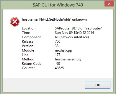 how to find sap note