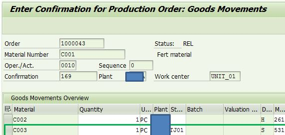 Co-Product and By-product in Production order   SAP Blogs