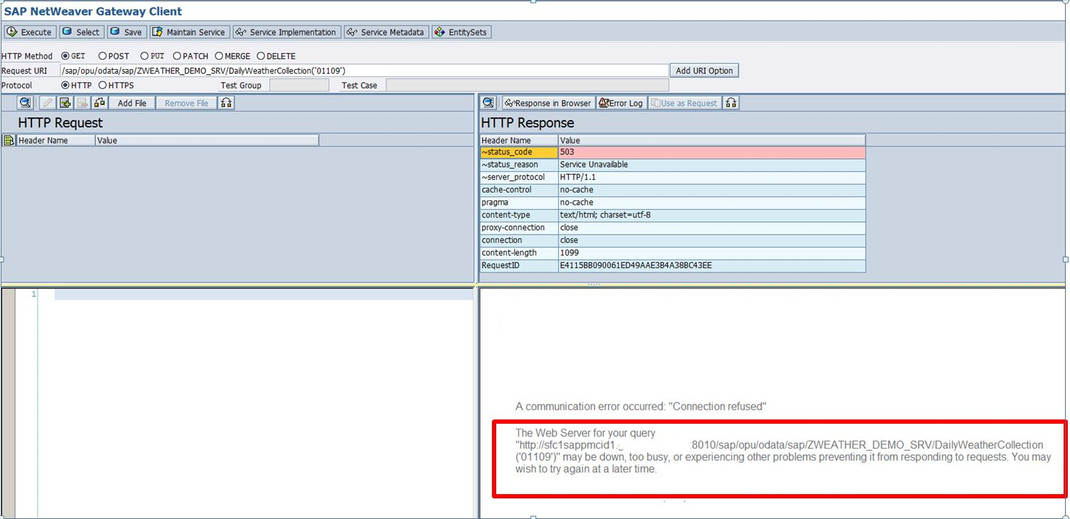 Consuming an External RESTful Web Service with ABAP in