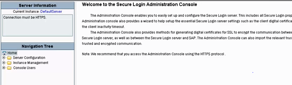 1. secure sever administrator console.PNG