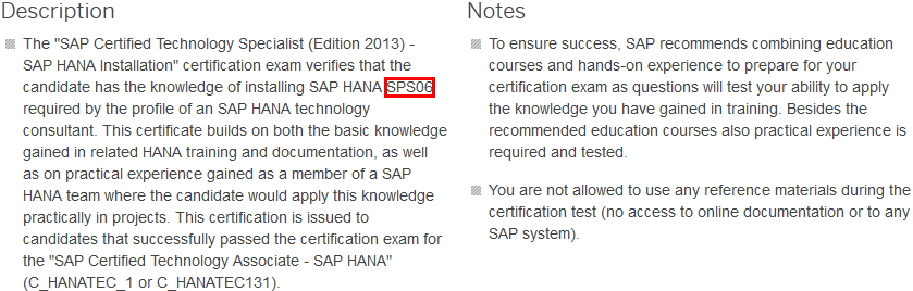 SAP Certified Technology Specialist: SAP HANA Installation – by the ...