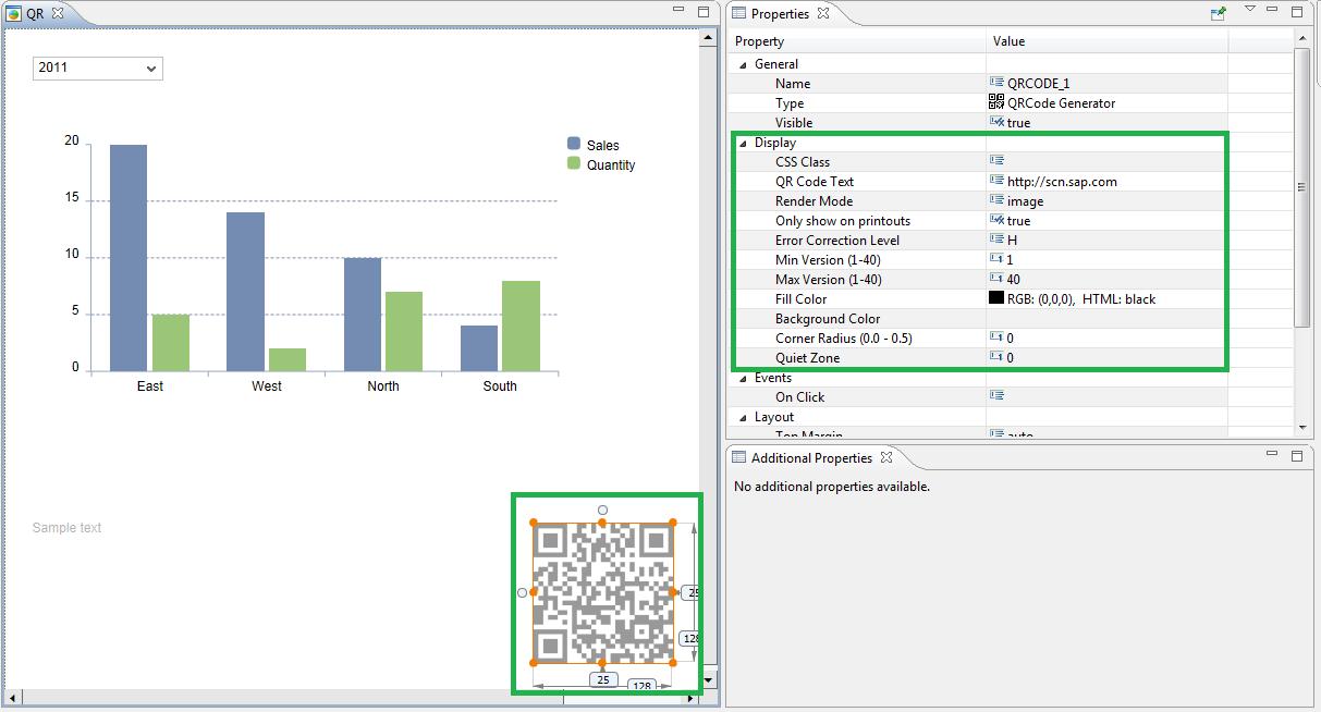Design Studio SDK (1 3/1 4) – QRCode Generator | SAP Blogs