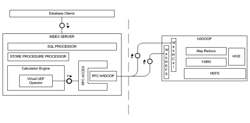 hadoop mapreduce as virtual functions in hana