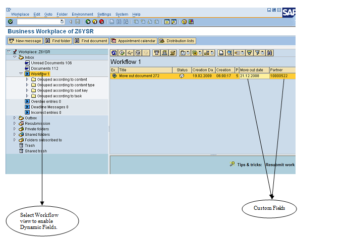 SBWP Customization (Tip for Inbox Customization) | SAP Blogs