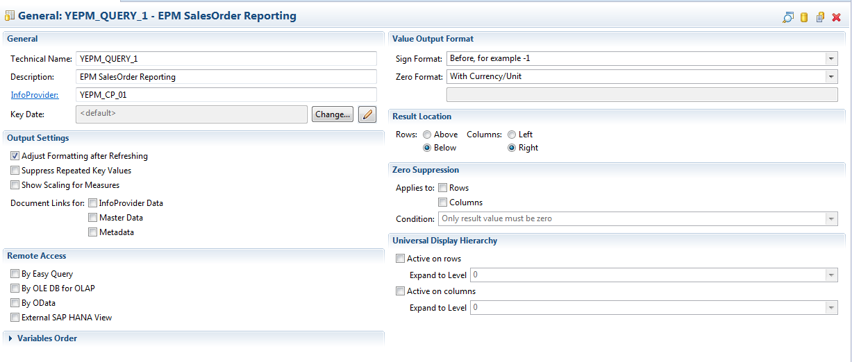 New Query Designer in Eclipse with SAP BW 7.4 powered by SAP HANA ...