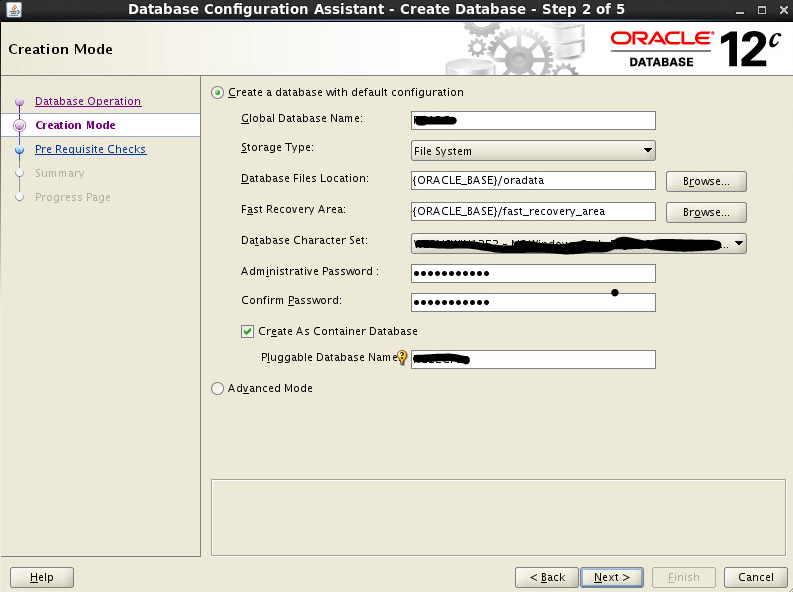 Oracle12c Database Installation steps | SAP Blogs