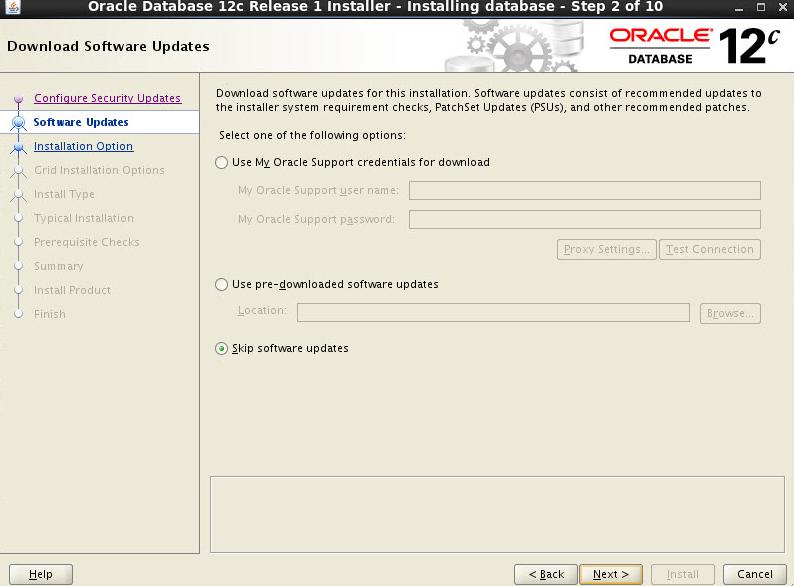 Oracle12c Database Installation steps | SAP Blogs