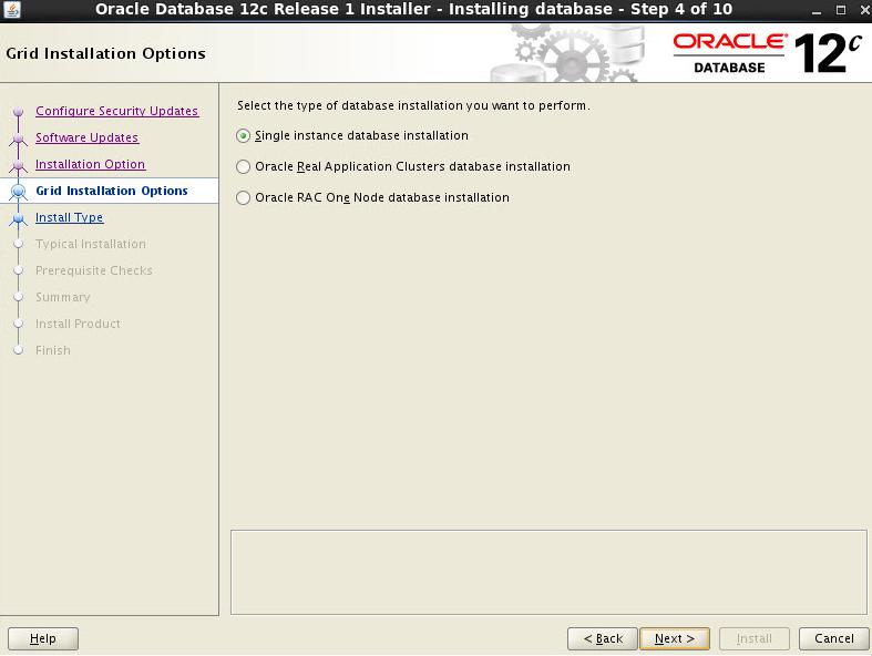 oracle12c database installation steps sap blogs rh blogs sap com Wired Doorbell Installation Socket Wiring Diagram