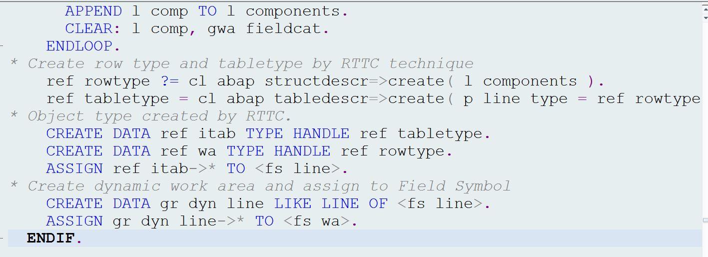 Design Dynamic Programming Or Not Sap Blogs