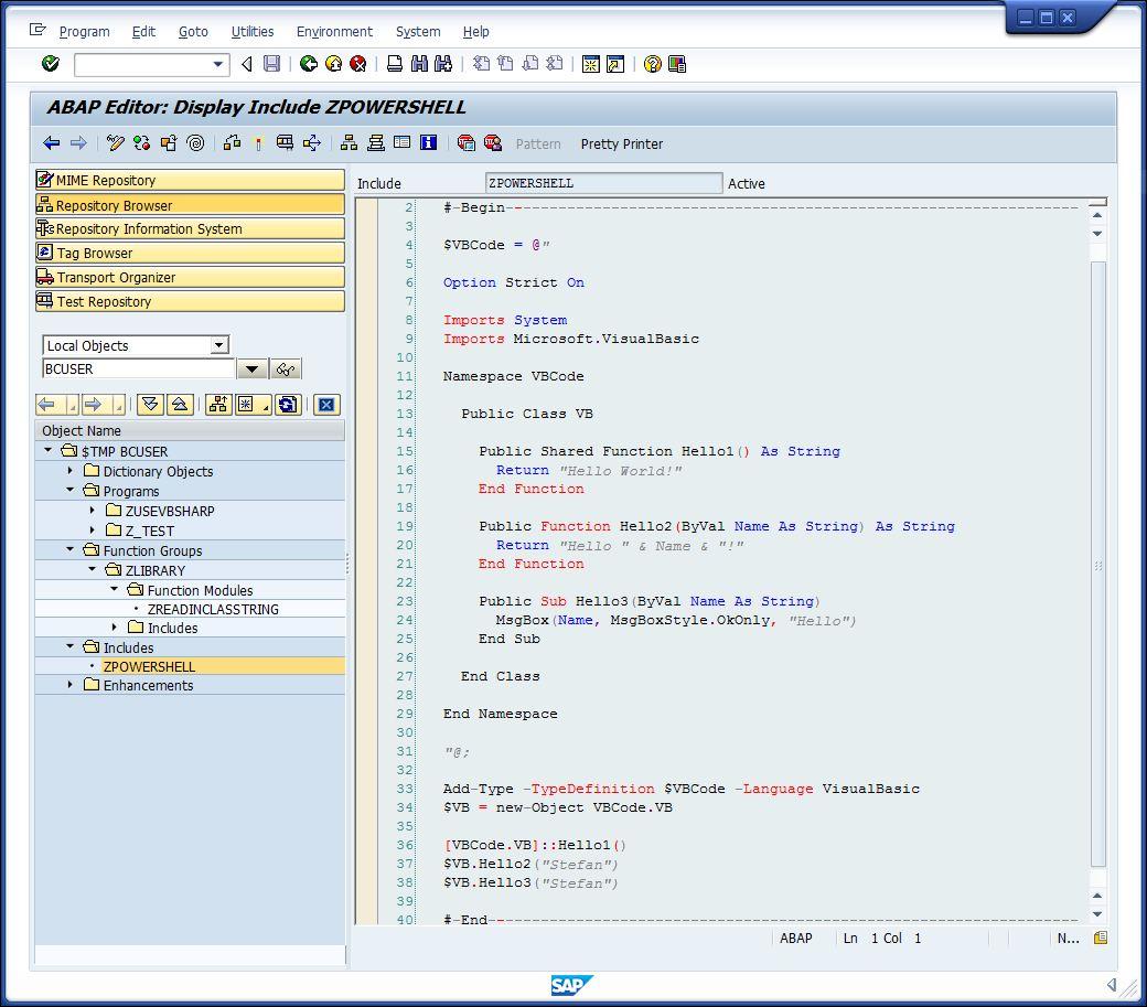 How To Use Windows Powershell 3 Inside Abap Sap Blogs