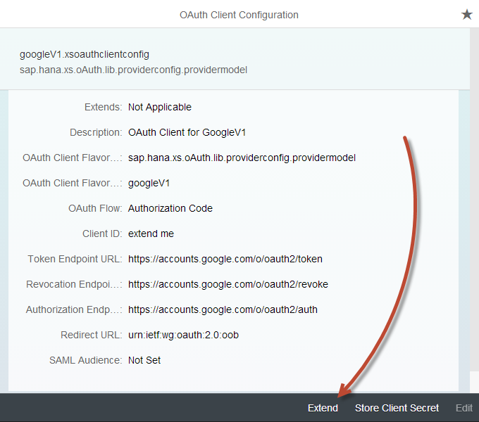 OAuth2 Authentication using HANA XS – XS OAuth client lib calling
