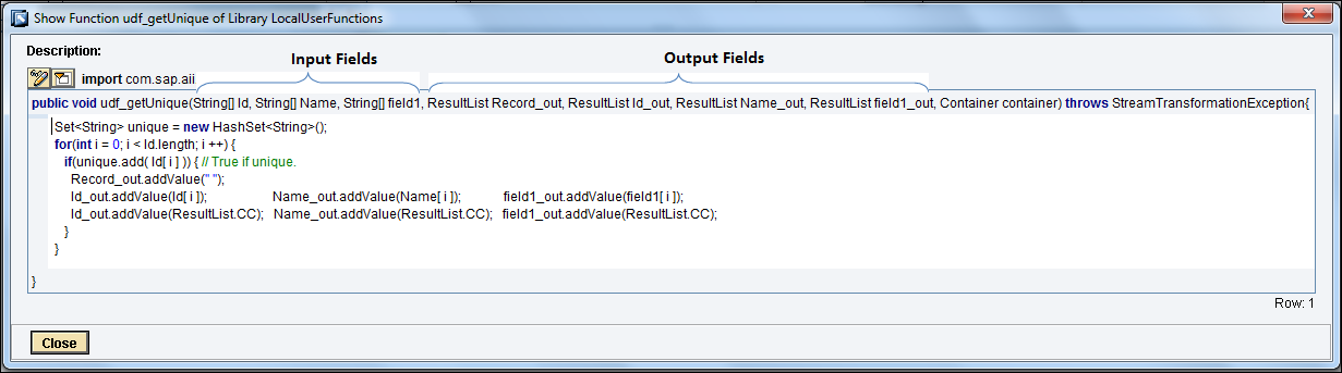 group sort and handle duplicate xml records using udf sap blogs