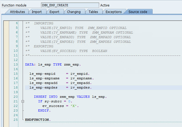 Simple Exercise on OData and SAP UI5 Application for the