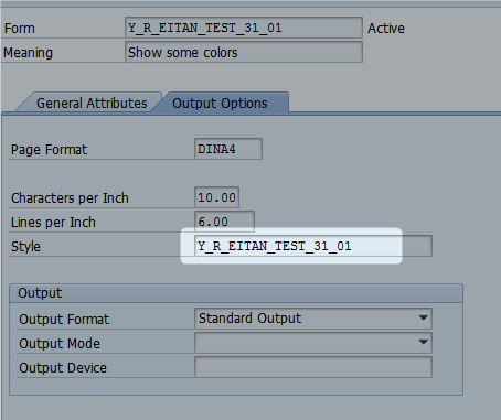 Character formats for Smart form and Adobe form | SAP Blogs