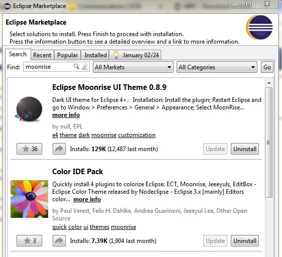 How to install eclipse color theme plugin offline | Peatix