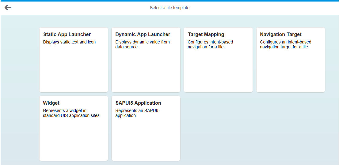 Creating custom tiles with SAP HANA UI Integration Services (UIS