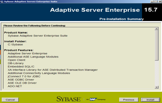 SAP Sybase Database ASE Installation steps on Linux | SAP Blogs