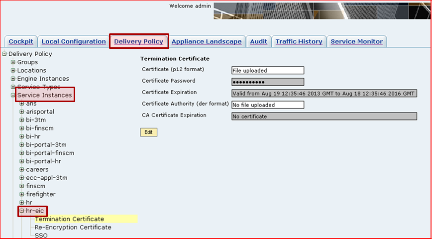 How To Update Renewed Ssl Certificate Of Individual Service In Accad