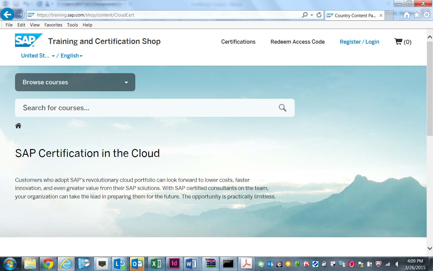 Sap Certification In The Cloud Goes Live Sap Blogs