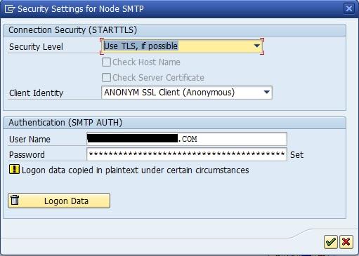 SAP SMTP service with Office365 online exchange | SAP Blogs