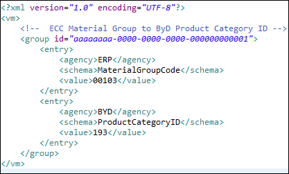 mapping an sap ecc idoc to an sap business bydesign a2x service with