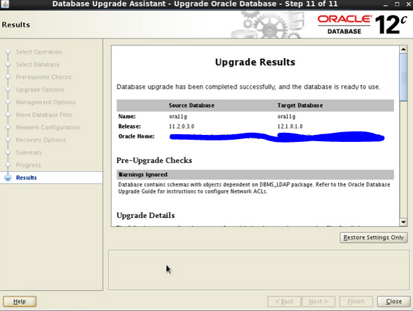 SAP Oracle upgrade 11G to 12C on AIX | SAP Blogs